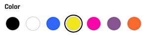 SCUBAPRO Hydros Pro Color Kits colors